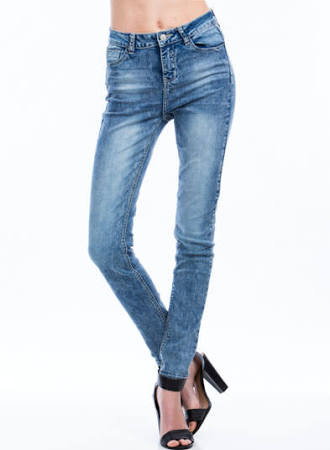 Not 4 Mom High-Waisted Skinny Jeans $33.50 from GoJane