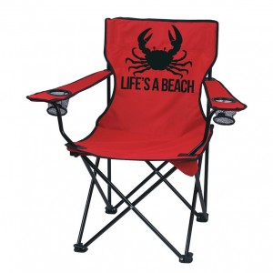 Deluxe custom folding chairs. Perfect for the beach, camping or backyard bbq. Available in a variety of colors. Don't let anyone take your seat, put your name on it! https://www.etsy.com/shop/QuotableLife