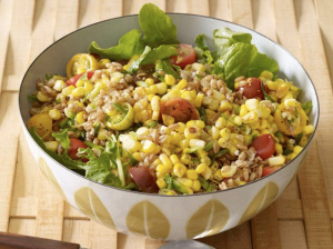Corn and Faroe Salad