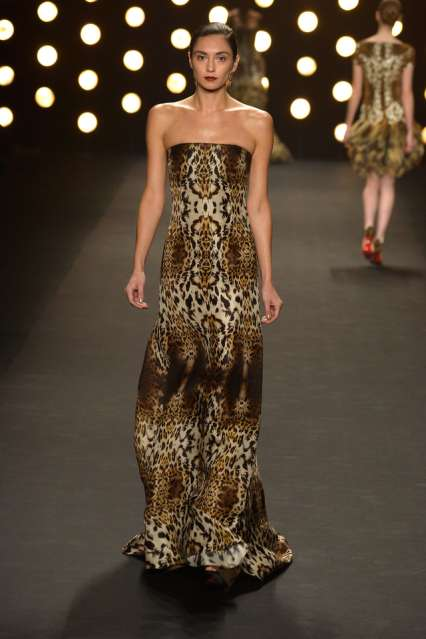 Naeem Khan at NYFW, Getty Images