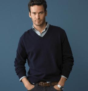 Cotton/Cashmere blend sweater available at jcrew.com