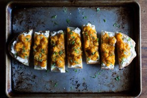 Butternut Squash on Toast from Food52