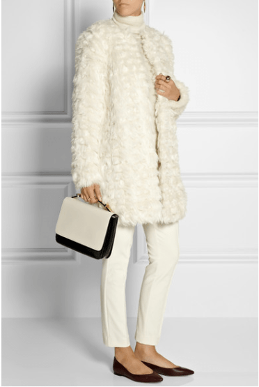MICHAEL MICHAEL KORS Faux shearling coat $225
