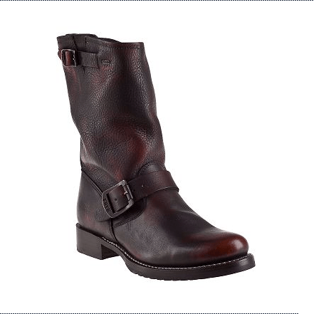 FRYE VERONICA SHORTIE BOOT BROWN LEATHER Original Price ......... $268.00 Now on Sale ......... $168.84 available at Jildor.com