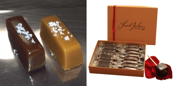 caramels for valentines