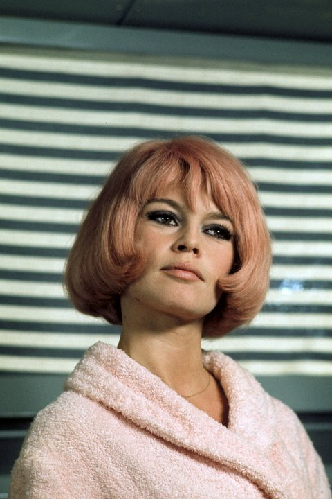 Even Brigitte Bardot had pink hair back in the day.