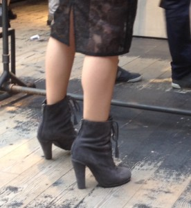 French Fashion Week booties