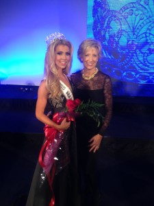 Doreen at Miss America