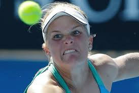 mean tennis lady