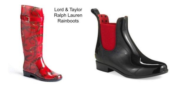 L&T rainboots