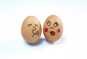 two love eggs