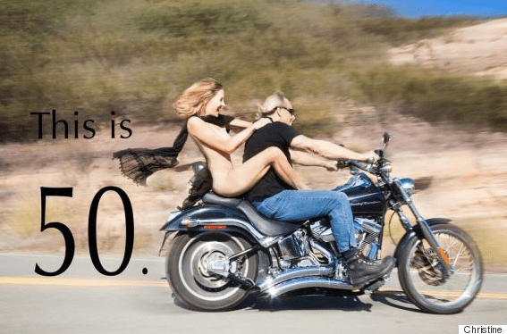 Riding nude on motorcycle galleries 90