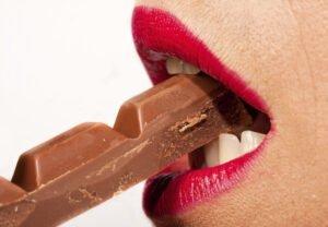eating erotic chocolate