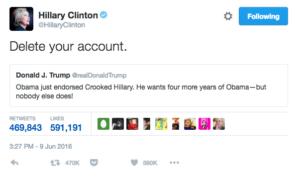delete your account