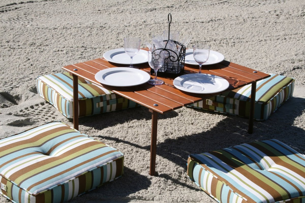 foldable beach table summer gifts