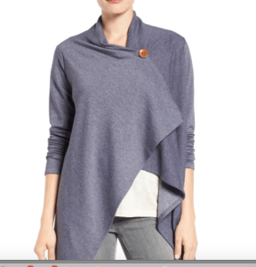 One button cardigan wrap from Nordstrom