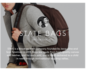 Buy a Big and State Bag Will GIft One