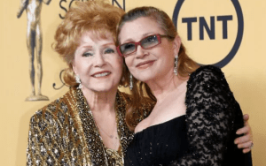 debby reynolds and carrie fisher