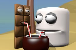 opposites attract, chocolate in love