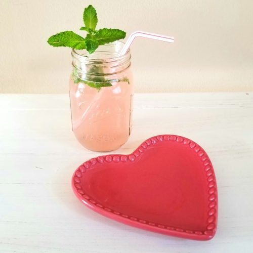 Valentine's Cocktails – Mint Grapefruit Mojito