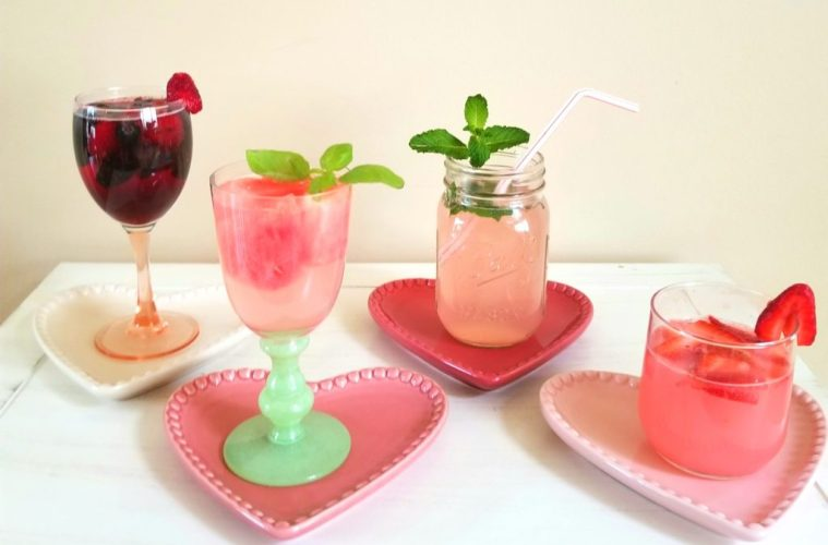 4 Guiltless Valentines Cocktails