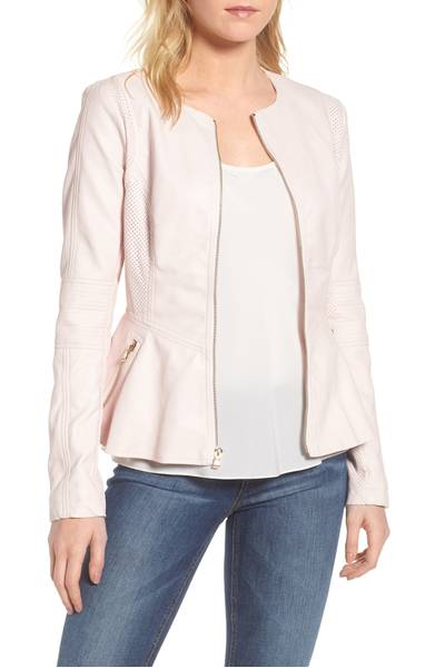 Pink Jackets To Lighten Your Look