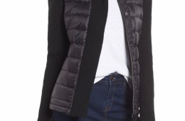 Mark New York Packable Knit Trim Puffer $79.90