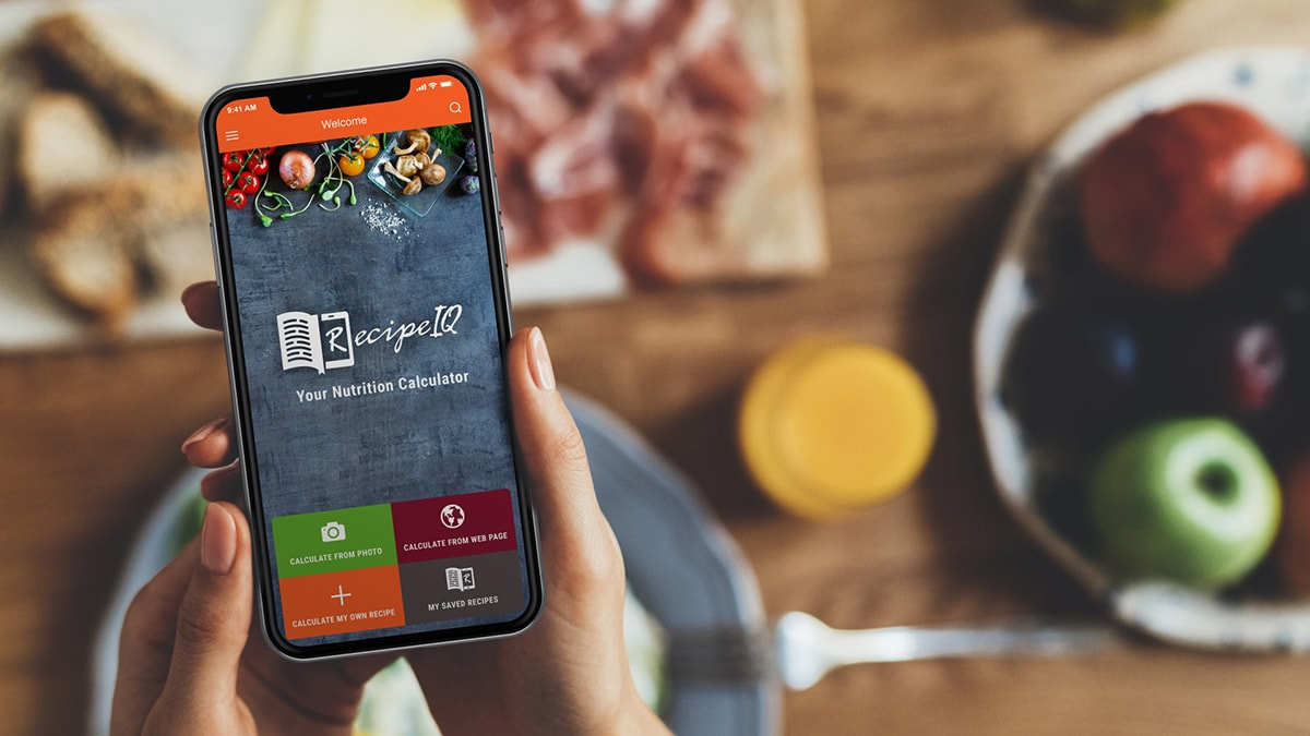 The RecipeIQ app
