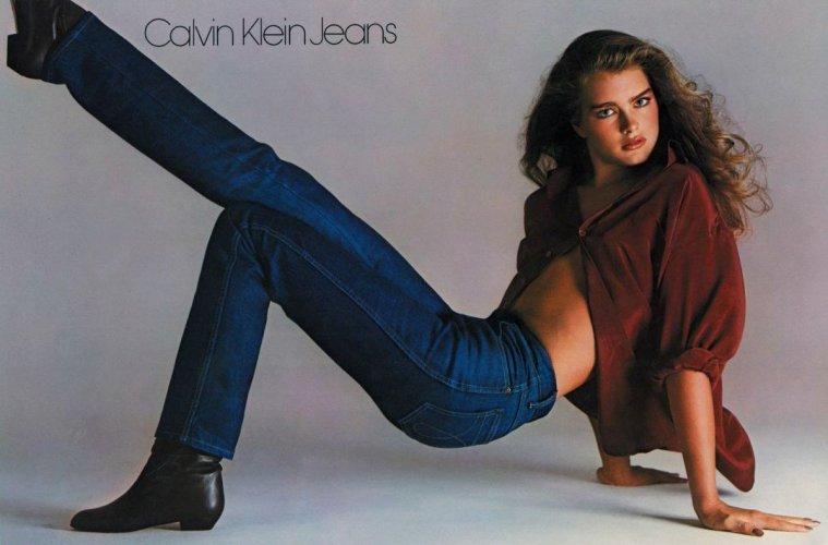 Vintage Jean Ad