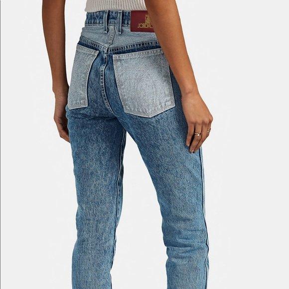 Jordache Mixed Vintage crop designer blue jeans