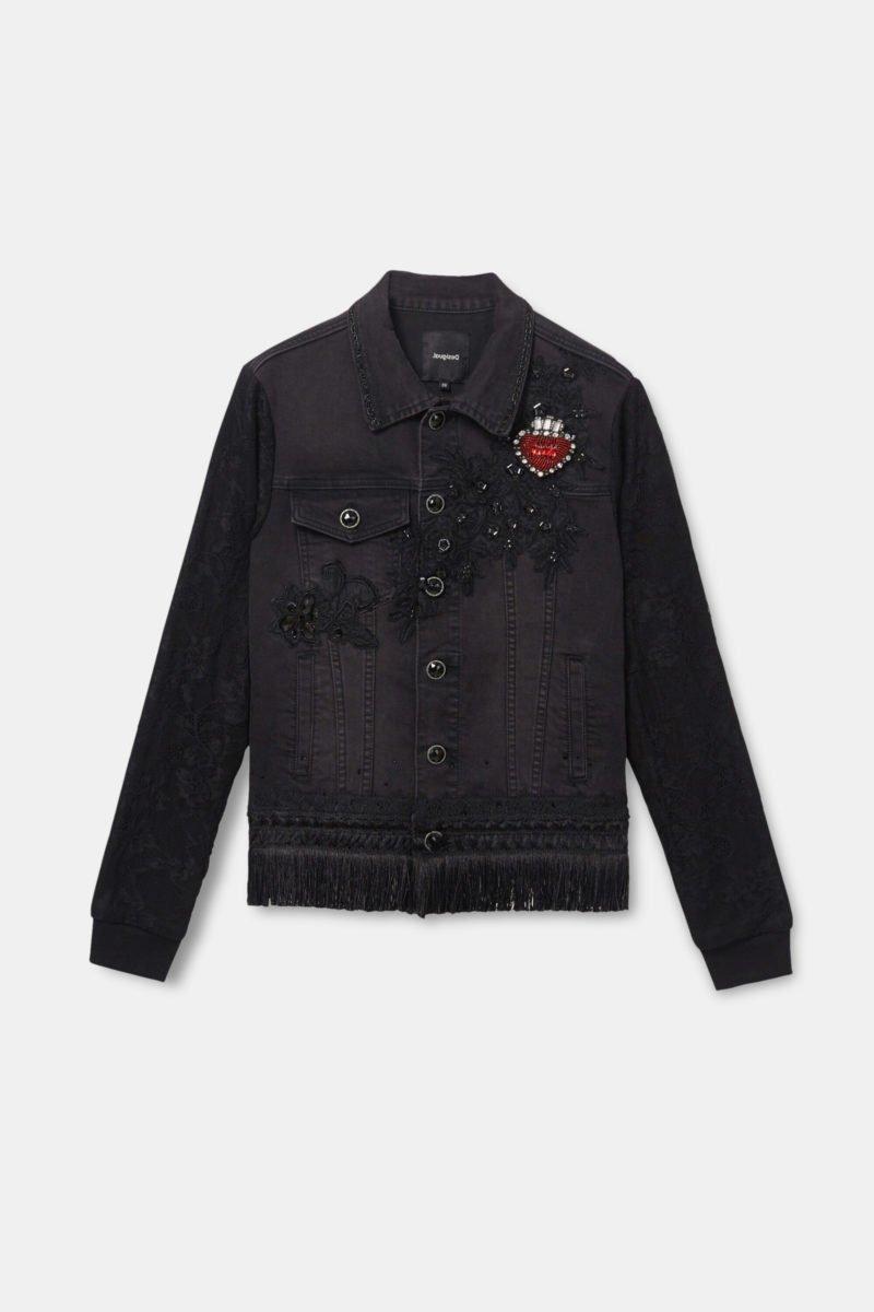 Heart Jean Jacket $209.95