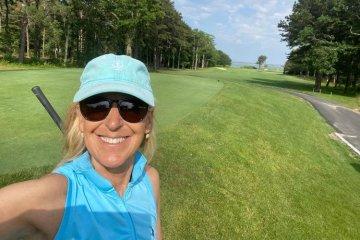 Felice Shapiro Golfing