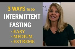 Intermediate fasting youtube thumbnail