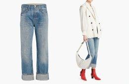 rag & boneMaya High-Rise Ankle Straight Jean