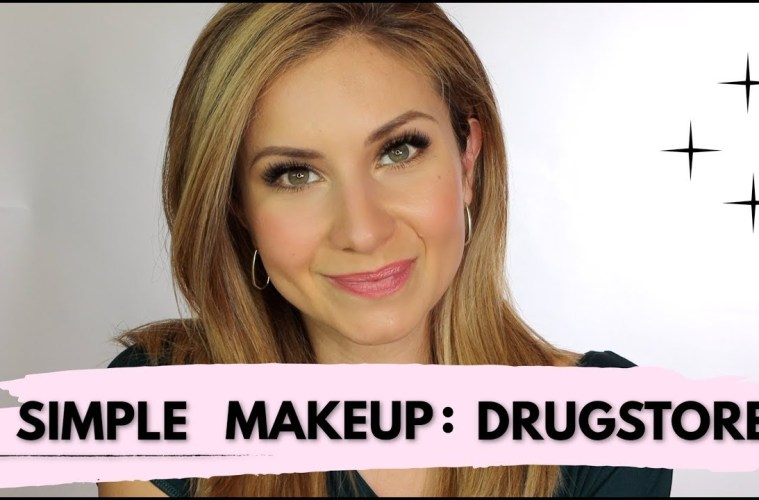 Simple Makeup Drugstore Video Cover