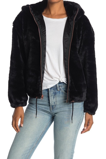 Lucky Brand faux fur jacket