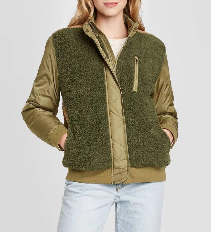 Universal Thread Utility Sherpa Jacket $45