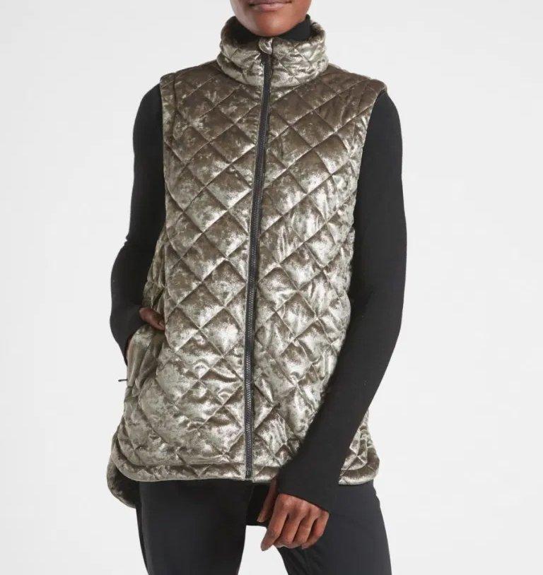 Silver vest