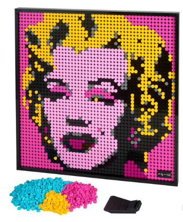 Lego Art Andy Warhol's Marilyn Monroe $119