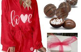 Sweet Valentine PJ's gift set $76.50