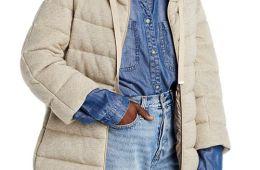 Herno Bracelet Sleeve Puffer Coat $855