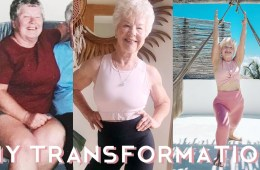 Train with Joan before and after