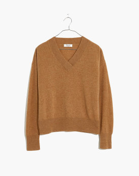 Madewell Cashmere V-Neck Sweater $98