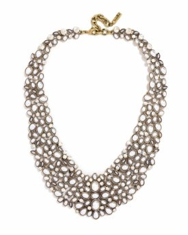 Baublebar Kew Crystal Collar Necklace $68.00