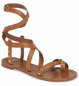 Tory Burch Ravello Studded Cage Sandal
