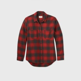 Long Sleeve Button Down Flannel $20
