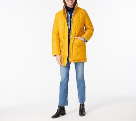 Quilted Cocoon Puffer $149.99