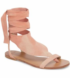 The Great Scarf Tie Sandal