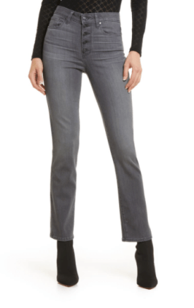 Cindy Exposed Button Fly Jeans $145.90