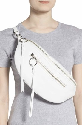 Rebecca Minkoff Large Bree Leather Belt Bag